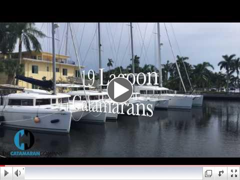 Come see the entire range of Lagoon catamarans