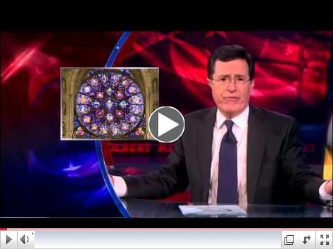 Redemption for All The Colbert Report May 23, 2013