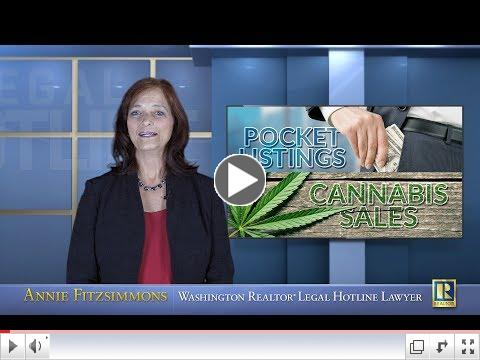 Discussing Pocket Listings and Cannabis Sales