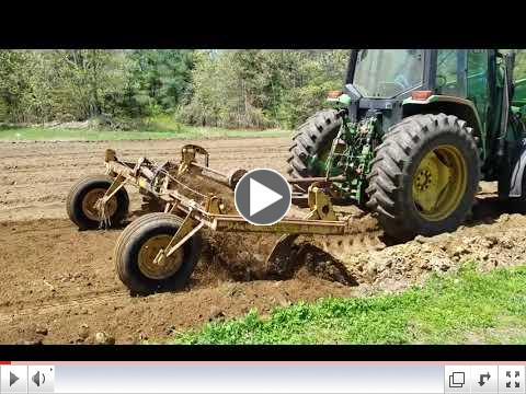 Plower Power: Check out the rock rake in action