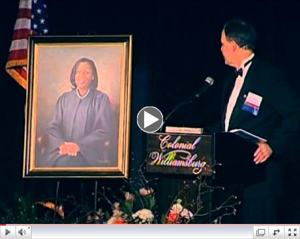 Unveiling of portrait of Justice Cleo E. Powell