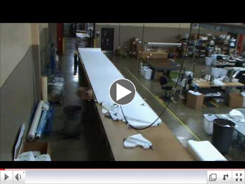 ASPIRO Tyvek Cutting Time Lapse Video