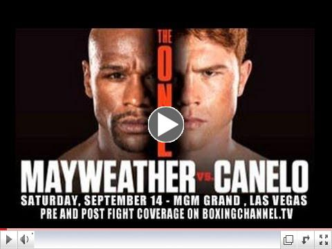 Floyd Mayweather Vs. Canelo Alvarez - The One - Fight Preview and Keys to Victory.