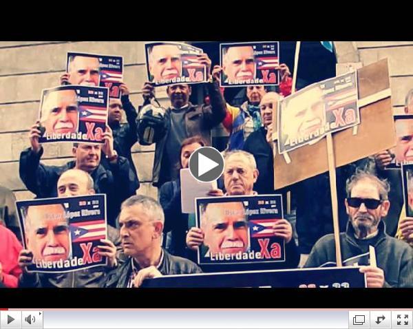 Concentracion pola liberdade de Oscar Lopez Rivera