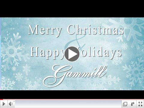 Merry Christmas from the Gammill family!