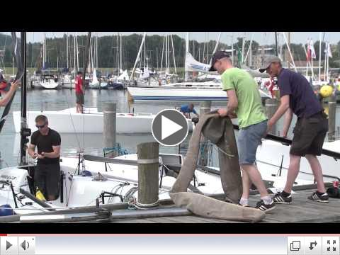 Highlights of the Day 6 - Melges 24 World Championship 2015 - Middelfart, Denmark