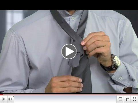how to tie windsor knot step by step. Tie a Windsor Knot.