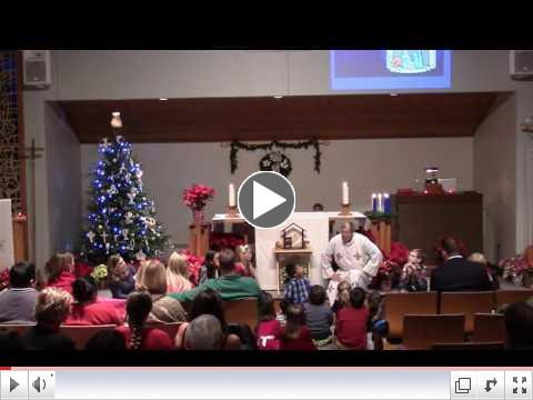 Christmas Eve Children's Sermon - The Christmas Angel