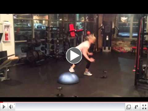 Bosu Lateral Jumps