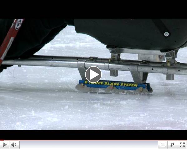 Introduction to Women's Sledge Hockey, Edmonton; Carrie Anton