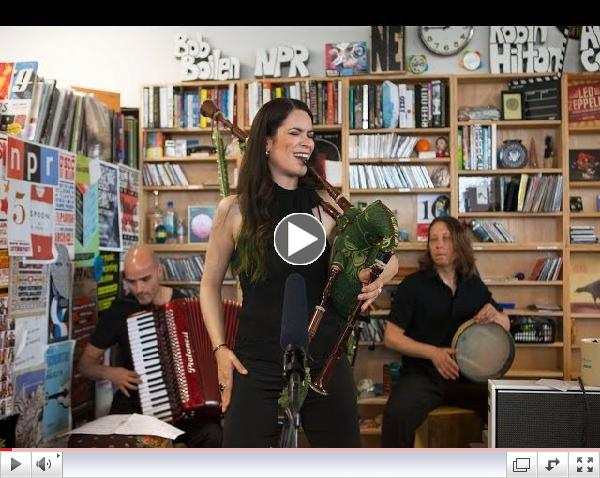 Cristina Pato: NPR Music Tiny Desk Concert