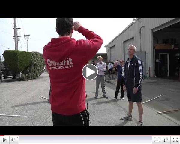 CrossFit - Coaching the Air Squat with Adrian Bozman
