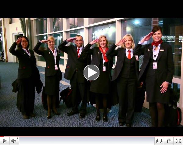 Air Canada Christmas - We are Family