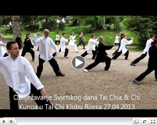 World Tai Chi & Qigong day Croatia 2013