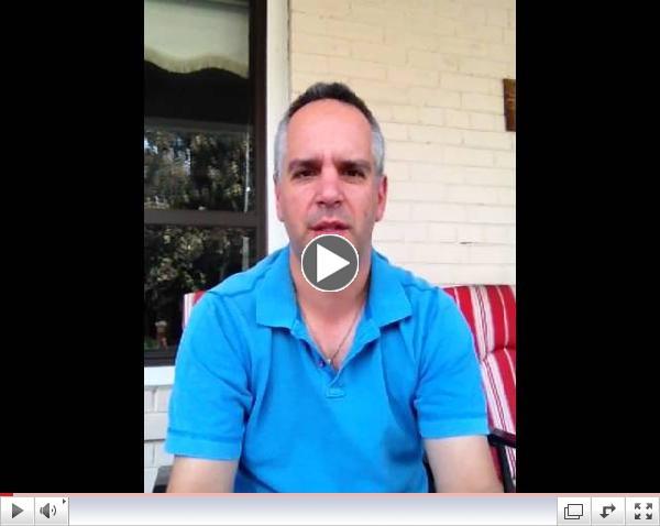 Jim Pagiamtzis sharing Anthony Robbins contest