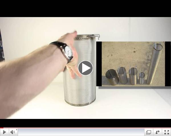 Stainless Beer Brewing Hop Spider Filter - 6