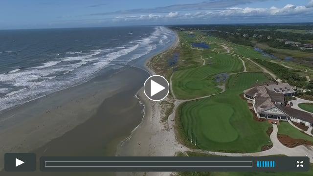 East End of Kiawah west to Ocean Course Clubhouse