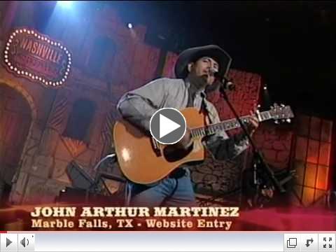 john Arthur martinez's Nashville Star Highlights