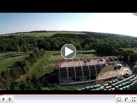 Harold Martin 65' x 120' Atlas Building Series Drone Video Tour