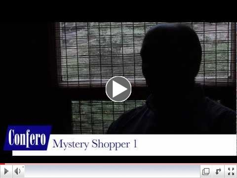 Confero Mystery Shopping Services