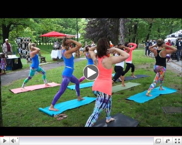 Maine YogaFest Flash Mob @ Farmer's Market
