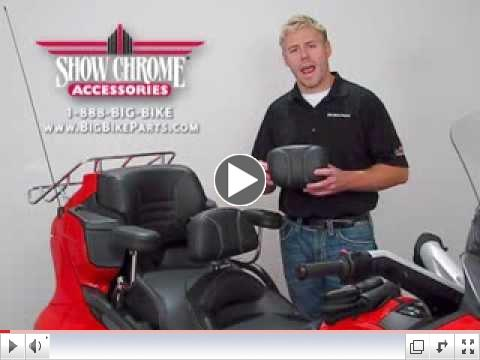 Smart Mount Backrests for Can Am Spyder RT