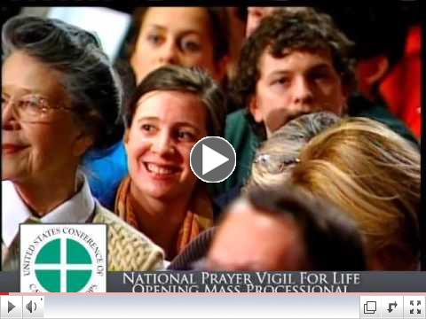 Highlights from the 2011 opening Mass of the National Prayer Vigil for Life.