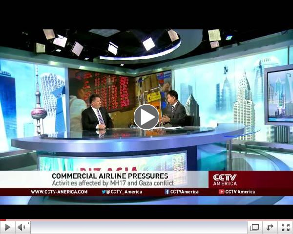 Chris Beck joins CCTV to discuss international business risk