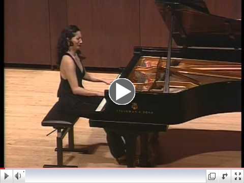 Janacek Piano Sonata 1.X.1905 (1/2): Tanya Gabrielian, pianist