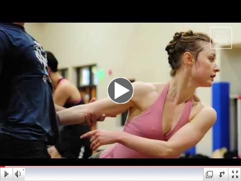 BalletX in rehearsal for a world premiere of Matthew Neenan's piece,