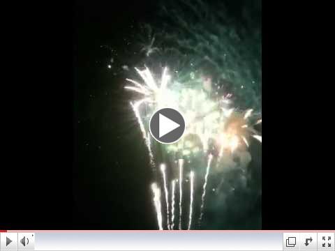 DeBordieu, July 4 Fireworks Finale, 2010