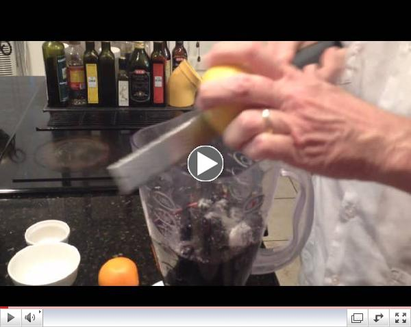 Wine Recipe: Montepulciano & Blackberry Granita