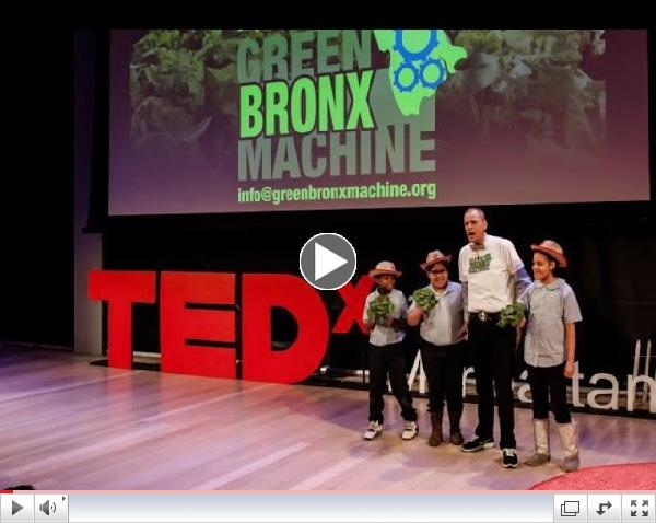 Green Bronx Machine: National Health and Wellness Center at PS 55 | Stephen Ritz | TEDxManhattan