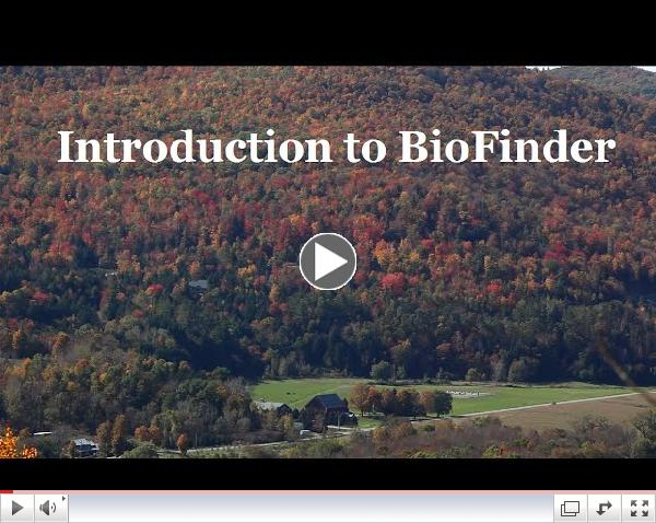 Introduction to BioFinder
