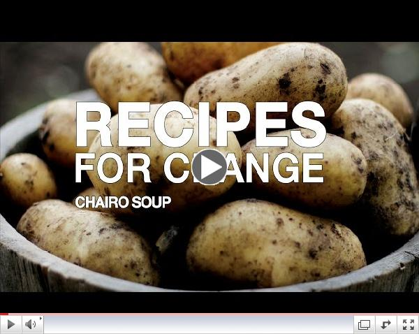 Recipes for Change: Chairo Soup