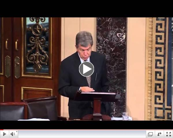 Senator Blunt Discusses ObamaCare Broken Promises 9/17/14