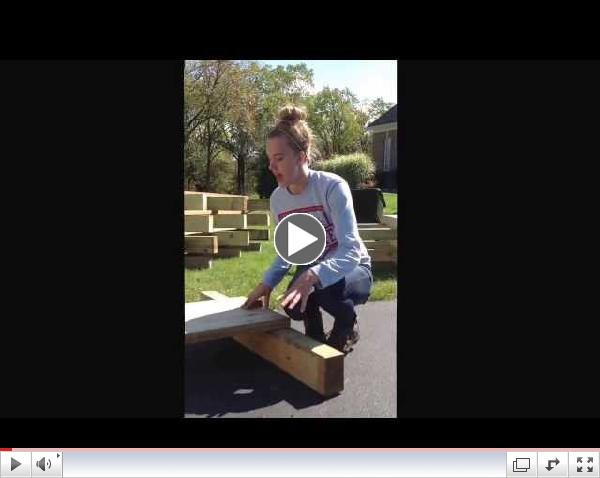 How to build a footbridge; my Girl Scout Gold Award project