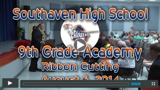 SHS 9th Grade Academy Ribbon Cutting
