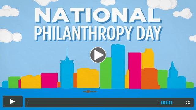 National Philanthropy Day 2015