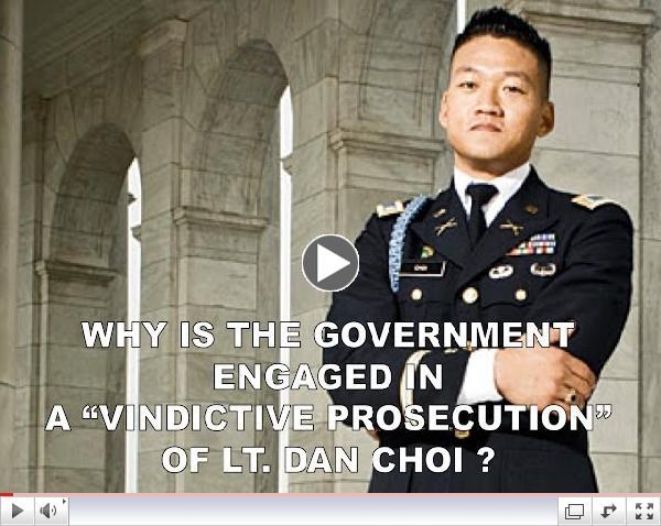 Free Speech Implications of DOJ Denying FOIA Request on Lt. Daniel Choi