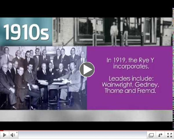 Celebrate the Y in You.  Rye YMCA from 1914 to 2014