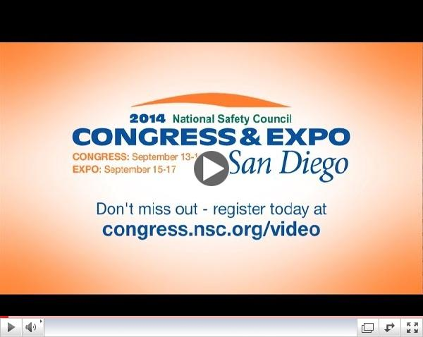 2014 NSC Congress & Expo - Putting the Pieces Together