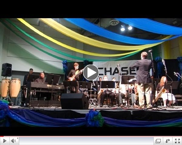 Caddo Parish High School Honor Jazz Band - Artbreak 2014