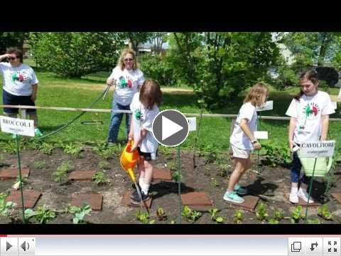 Casa Italia - Italian Language & Culture Summer Camp, Day 1, June 19, 2017 - Garden 2