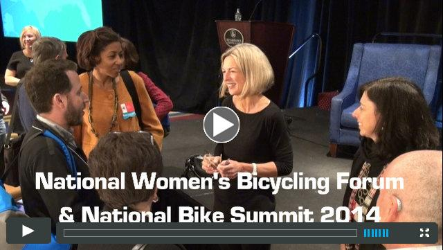 National Women's Bicycling Forum & National Bike Summit 2014