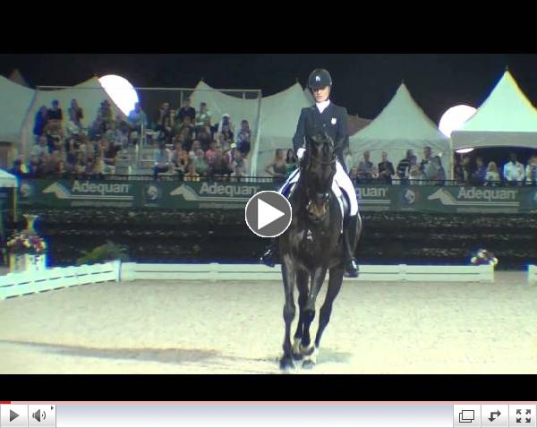 Watch Adrienne Lyle and Wizard perform their winning freestyle test! Video courtesy of Campfield Videos.
