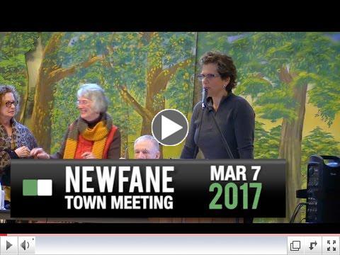 Newfane Town Meeting