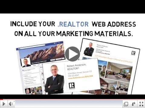 Why Should I Get a .REALTOR Web Address?