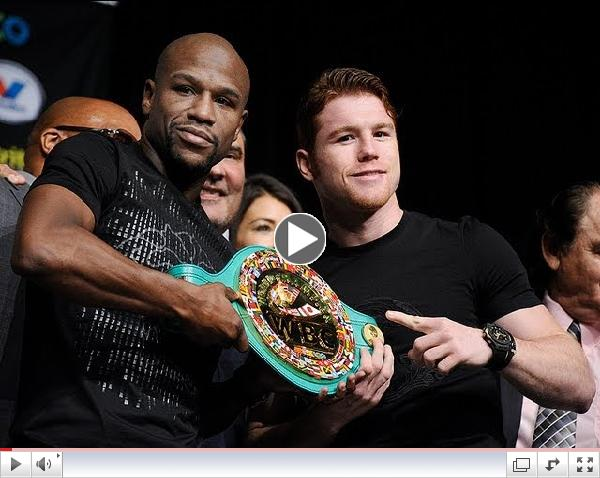 Mayweather Vs. Canelo final press conference prior to