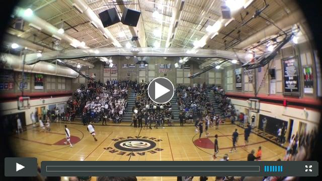 BHS PEP Band | Ballard Boys Varsity vs Nathan Hale | Jan 28, 2017